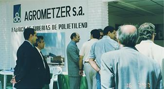 Establecimiento de la primera planta de producción fuera de Israel
