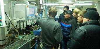 Inauguración de la planta de producción en Ucrania